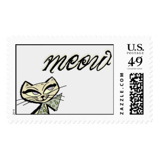 meow postage stamps
