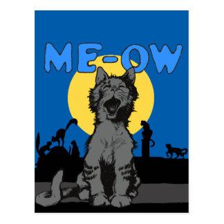 Meow Postcard