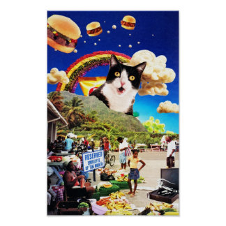 Meow Posters