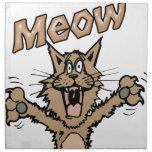 Meow Printed Napkin