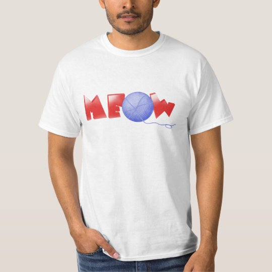 Meow (red) T-Shirt
