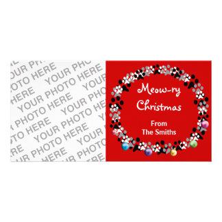 Meow-ry Christmas Card