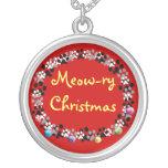 Meow-ry Christmas Custom Jewelry