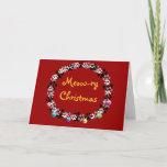 Meow-ry Christmas Holiday Card