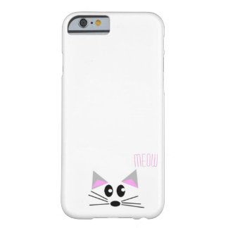 """""""Meow"""" says the kitten Barely There iPhone 6 Case"""