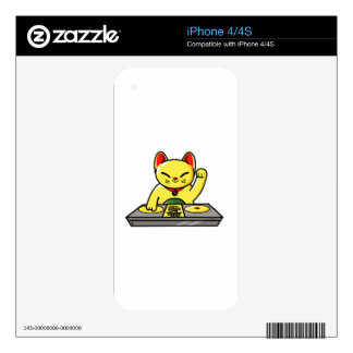 Meow-sician iPhone 4 Decal
