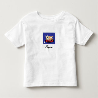 Meow, Sleeping Cat Toddler T-shirt
