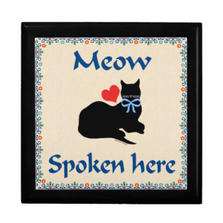 Meow Spoken Here Gift Box