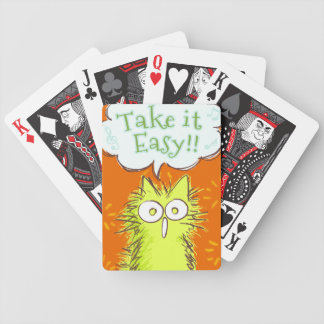 Meow!Take it Easy! Bicycle Playing Cards