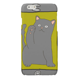 Meow Two Glossy iPhone 6 Case