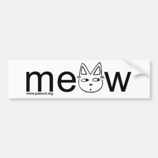 Meow Wear Bumper Stickers
