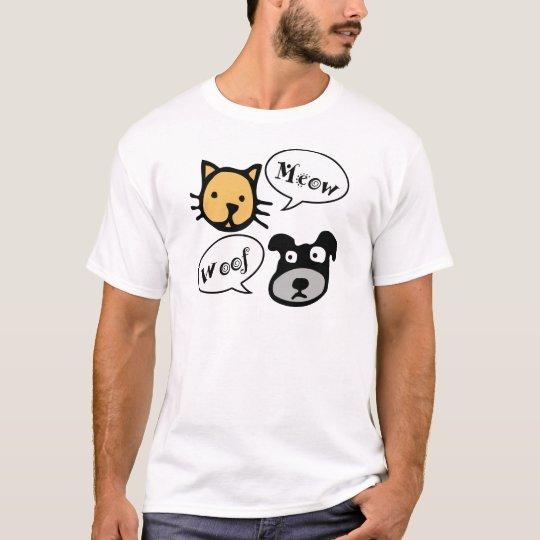 Meow Woof T-Shirt