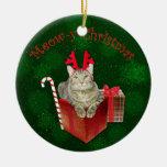Meow-y Christmas Christmas Tree Ornament
