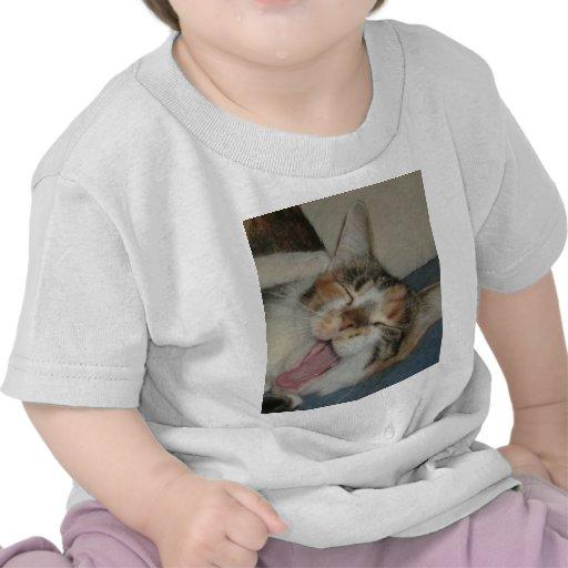 Meow Yawn Tee Shirt