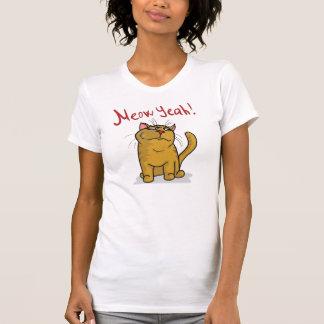 Meow Yeah - 2-sided  Ladies Petite T-Shirt