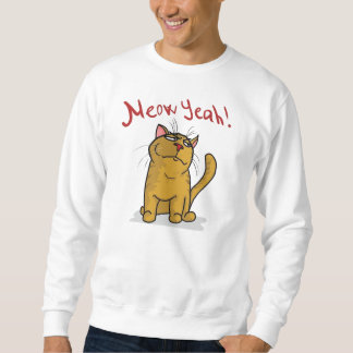 Meow Yeah - 2-sided Sweatshirt