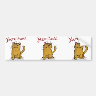 Meow Yeah - Bumper Sticker