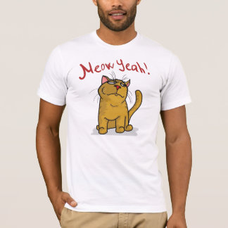 Meow Yeah -  Fitted T-Shirt
