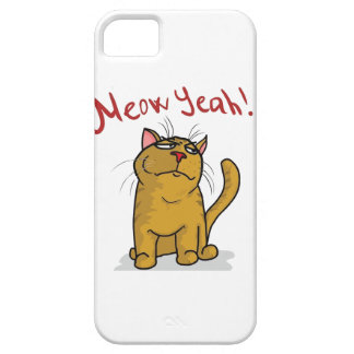 Meow Yeah - iPhone 5 Case