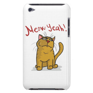 Meow Yeah - iPod Touch 4 Case iPod Touch Covers