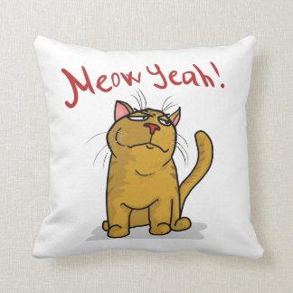 Meow Yeah - Pillow