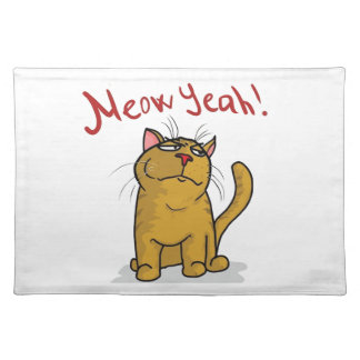 Meow Yeah - Placemat
