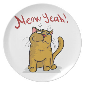 Meow Yeah - Plate