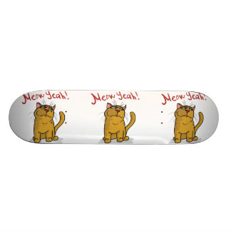 Meow Yeah - Skateboard Deck