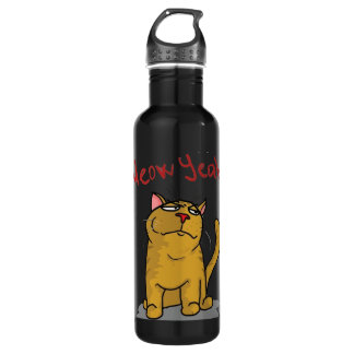 Meow Yeah - Stainless Steel Water Bottle
