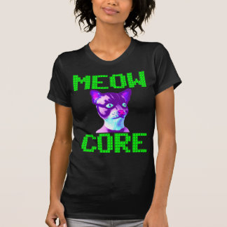 MEOWCORE CHIPTUNES T-Shirt