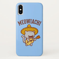 Case-Mate Barely There iPhone X Case with Mustache Phone Cases design
