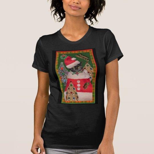 Meowry Christmas teeshirt T-Shirt