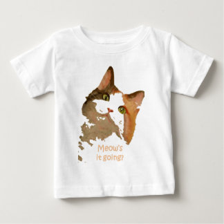 Meow's It Going Baby T-Shirt