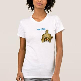 Meows it Going? Cartoon Cat T shirt