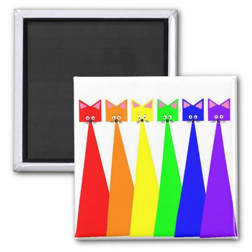 Meows X 6 Magnets