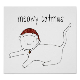 Meowy Catmas poster