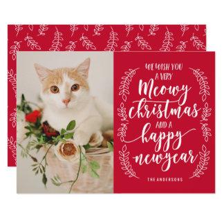 Meowy Christmas Card