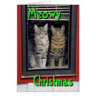 Meowy_Christmas Card