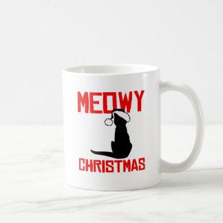 Meowy Christmas - Classic White Coffee Mug