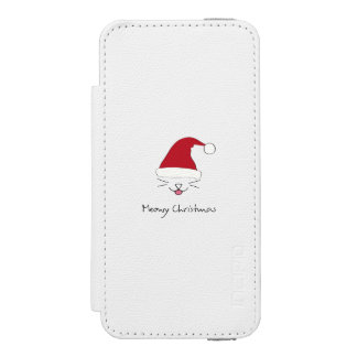 Meowy Christmas Cute Cat Holidays Wallet Case