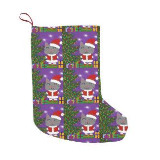 Meowy Christmas Small Christmas Stocking