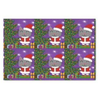 Meowy Christmas Tissue Paper