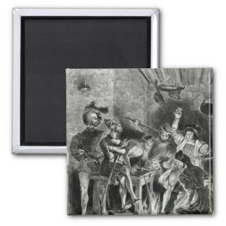 Mephistopheles and the Drinking Companions Magnet