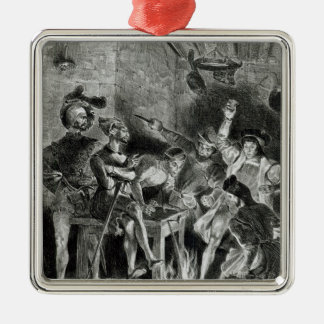 Mephistopheles and the Drinking Companions Ornaments