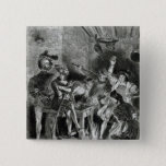 Mephistopheles and the Drinking Companions Pinback Button