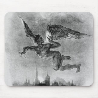 Mephistopheles' Prologue in the Sky Mouse Pad