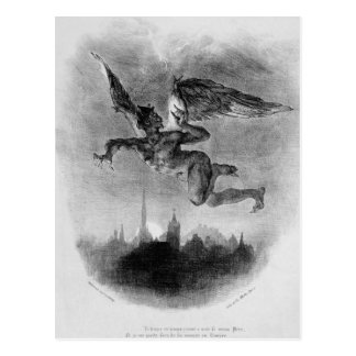 Mephistopheles' Prologue in the Sky Postcard