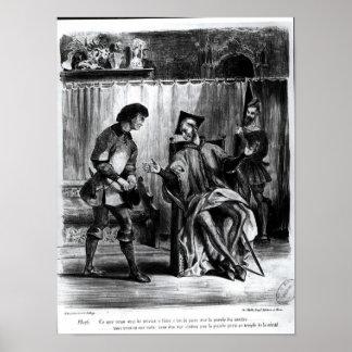 Mephistopheles y el alumno poster