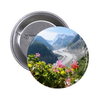 Mer de Glace - Chamonix France Button