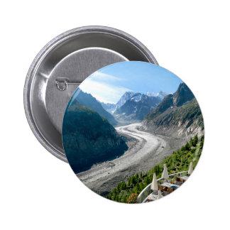 Mer de Glace - Chamonix France Buttons